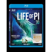 Life of Pi:Suraj Sharma,Imfan Khan - Viata lui Pi (BD 3D) (Blu-ray 3D)