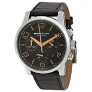 Montblanc Timewalker Chronograph Black Dial Mens Watch 101548