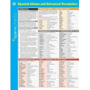Spanish Idioms and Advanced Vocabulary Sparkcharts by Sparknotes
