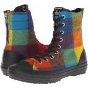 Converse Chuck Taylor® All Star® Hi-Rise Woolrich Boot X-Hi Yellow Bird/Cyan Space/Black
