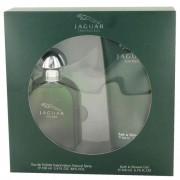 Jaguar Eau De Toilette Spray 3.4 oz / 100.55 mL + Bath & Shower Gel 6.7 oz / 198.1 mL Gift Set Fragrance 491446