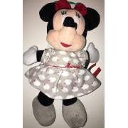 Doudou Sours Minnie Mouse Rose Grise Nuages Blancs Disney Baby Nicotoy Simba Toys Benelux Jouet Eveil Bebe Plush Comforter