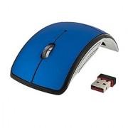 Quace 2.4ghz Wireless Foldable Folding Arc Optical Mouse Plug and Play