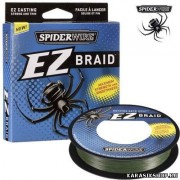 Леска плетёная Spiderwire EZ Braid 100 м 0,20 мм 11,2 кг (цвет: тёмно-зеленый) Л01-00217