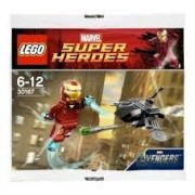 Lego Super Heroes: Iron Man Vs Fighting Drone Jeu De Construction 30167 (Dans Un Sac)