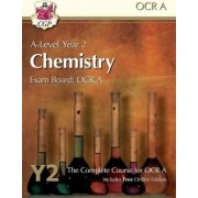 New A-Level Chemistry for OCR A: Year 2 Student Book with Online Edition by CGP Books