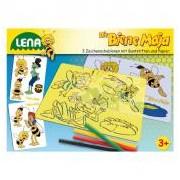 Lena Maja a méhecske rajzsablon