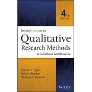 Introduction to Qualitative Research Methods by Steven J. Taylor