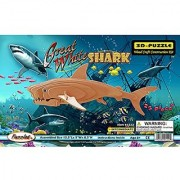 Puzzled Great White Shark Wooden 3D Puzzle Construction Kit