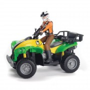 Bruder Quad With Driver - Green - 63000