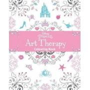 Disney Princess Art Therapy Colouring Book by Parragon Books Ltd