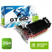 MSI Nvidia GT610 2Go DDR3 LP