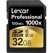 Card de Memorie Lexar Professional 1000x SDHC 32GB Clasa 10 UHS-II U3 150MB/s