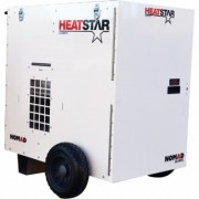 HeatStar Direct-Fired Forced Air Heater - 250,000 BTU, 2100 CFM, Forced Air, Model F109120, White