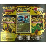 Rayquaza: Pokemon Card Game Dragons Vault Special Edition 3-Pack [1 Booster Packs & 1 Promo Card]