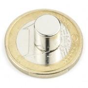 Magnet neodim disc, diametru 8 mm, putere 2,5 kg
