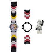 Ceas LEGO Star Wars Storm Trooper alb negru