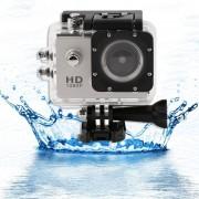 EW Full HD 1080P SJ4000 2,0 pulgadas de coches 5MP DV Cam Deportes acción de la cámara a prueba de agua - Plata