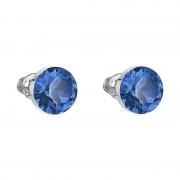 Cercei cu cristale Swarovski FaBOS, Capri blue 7440-4537-25