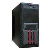 Carcasa Segotep Red SECC Steel ATX Mid Tower Case