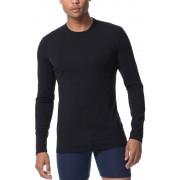 Icebreaker Anatomica LS Crewe Shirt Men black/monsoon XXL 2017 Langarm Shirts