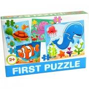 Tengeri állatos Bébipuzzle - D-Toys