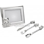 Rama foto set tacamuri argintate Twinkle