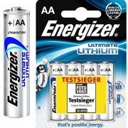 Energizer Ultimate Lithium Lote de pilas L91 AA (3000 mAh, 1,5 V en blíster, 10 x 4 pilas)