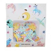 Set Of 2 Creative Sticker/Stamp Decoration/Diary Stickers/Diy Decoration(Stars)