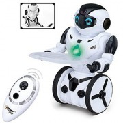 Top Race Remote Control Robot Smart Self Balancing Robot 5 Operating Modes Dancing Boxing Driving Loading Gesture. 2.4Ghz Transmitter