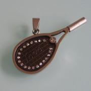 .Медальон от Медицинска Стомана 316L (DSP9427B)