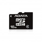 Secure Digital Card micro SDHC 16GB class4 ADATA (AUSDH16GCL4-R)