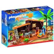 Playmobil - 5588 - Jeu De Construction - Crèche De Noel