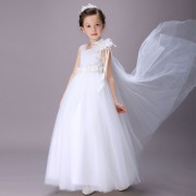 Robe De Soirée Enfant Fille Demoiselle D'honneur Corsage