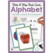 Alphabet Write & Wipe Flash Cards