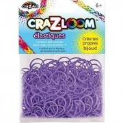 The Cra-Z-Art Shimmer N Sparkle Cra-Z-Loom Fashion Colors Rubber Bands - Purple