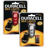 Duracell 3 LED Vorne & Hinten Fahrrad Licht Set (BUN0045A)