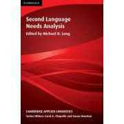 Second Language Needs Analysis by Michael H. Long