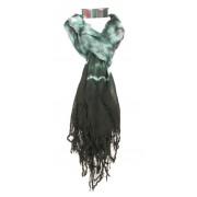 Hippe sjaal met washed structuur