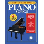 "Teach Yourself to Play Piano Songs: ""Clocks"" & 9 More Modern Rock Hits: Book with Lessons and Interactive Video & Audio"