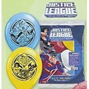Justice League Balloons - Package of 6
