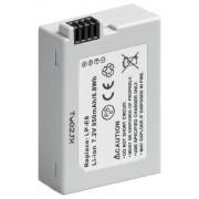 Wentronic Camera Battery Ión de litio 950mAh 7.2V batería recargable Batería/Pila recargable (Ión de litio, 950 mAh, 7,2 V, Color blanco, Canon LP-E8)
