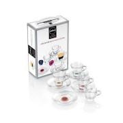 Set tazas cristal espresso - lavazza a modo mio