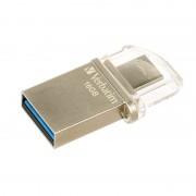 Memorie USB Verbatim OTG Micro 16GB USB 3.0