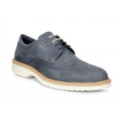 Pantofi smart-casual barbati ECCO Ian Wingtip (Albastri / Marine)