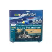"Revell GmbH 65136 ""buque de guerra Scharnhorst"" Modelo Set"