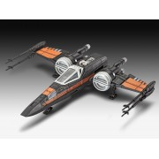 Poe-S X-Wing Fighter Built-Play with sound Revell RV6750