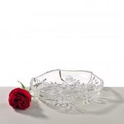 Roses set 4 farfurii cristal 16 cm