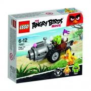 LEGO Angry Birds Fuga en el coche de los cerdos - juegos de construcción (Dibujos animados, Cualquier género, Multi)