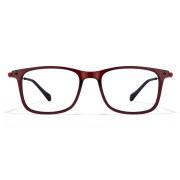 Mask OPTIMUS R 16728 Maroon Red Black Eyeglasses
